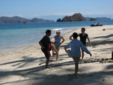 Yoga dancers