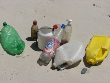 THE AMOUNT OF TRASH ON OUR BEACHES AND IN OUR OCEANS IS STAGGERING