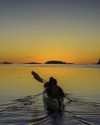 Kayak at Fundy Bay