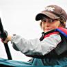 Boy in kayak.