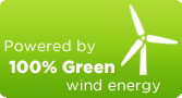 Website powered by 100% green wind energy