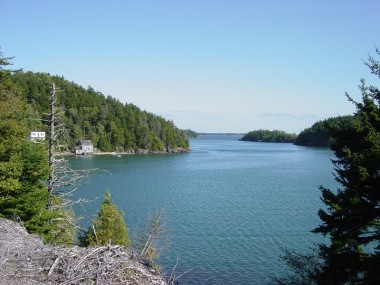 Your kayak trips starts here in Northwest Harbour, Deer Island, Bay of Fundy, New Brunswick